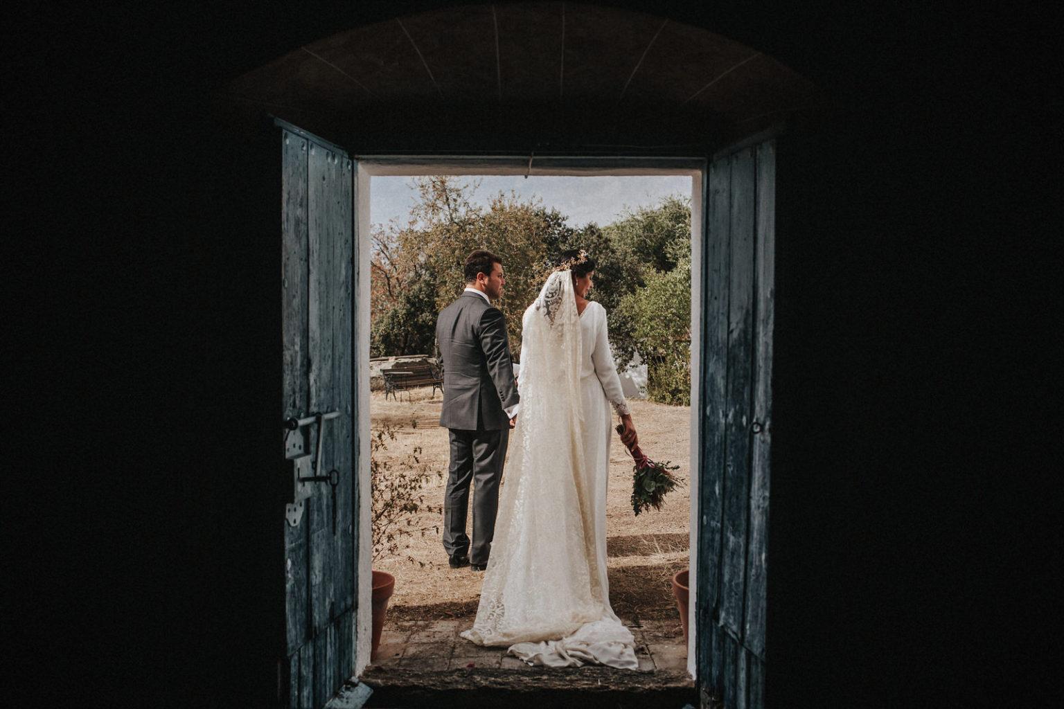 Reportaje de boda intimo, diferente, natural. Boda Extremadura